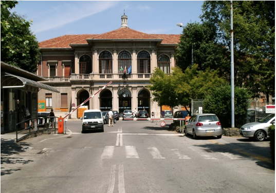 Cabling of the Salvini Hospital in Garbagnate Milanese
